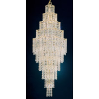 Schonbek Jubilee 25 Light Chandelier in Gold and Clear Gemcut Trim 2661-20