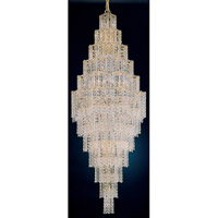 Schonbek Jubilee 41 Light Chandelier in Gold and Clear Gemcut Trim 2663-20