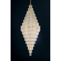 Schonbek Jubilee 63 Light Chandelier in Gold and Clear Gemcut Trim 2667-20