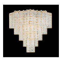 Schonbek Jubilee 6 Light Wall Sconce in Gold and Clear Gemcut Trim 2670-20