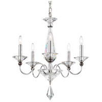 Jasmine 5 Light 20 inch Silver Chandelier Ceiling Light
