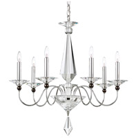 Schonbek 9677-40CL Jasmine 7 Light 26 inch Silver Chandelier Ceiling Light in Clear Vintage