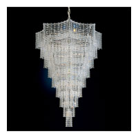 Schonbek Jubilee 33 Light Chandelier in Silver and Clear Gemcut Trim 2657-40