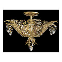 Schonbek Amytis 6 Light Semi Flush Mount in Heirloom Gold AM5206N-22HAR
