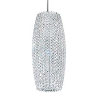Schonbek Dionyx 3 Light Pendant in Stainless Steel and Crystal Swarovski Elements Trim DI0716S