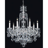 Schonbek 5736CL Hamilton 7 Light 24 inch Silver Chandelier Ceiling Light in Clear Heritage alternative photo thumbnail