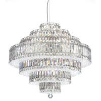 Schonbek 6677A Plaza 31 Light 28 inch Stainless Steel Pendant Ceiling Light in Clear Spectra alternative photo thumbnail