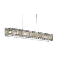 Schonbek 2261S Quantum LED 41 inch Stainless Steel Pendant Ceiling Light in Clear Swarovski