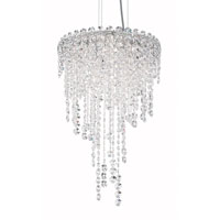 Schonbek CH1211N-401A Chantant 4 Light 14 inch Stainless Steel Pendant Ceiling Light in Clear Spectra, Strand