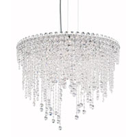 Chantant 6 Light 24 inch Stainless Steel Pendant Ceiling Light in Clear Spectra, Strand