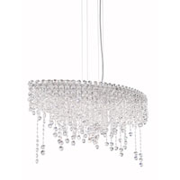 Schonbek CH3611N-401A Chantant 6 Light 15 inch Stainless Steel Pendant Ceiling Light in Clear Spectra, Strand