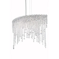 Chantant 6 Light 15 inch Stainless Steel Pendant Ceiling Light in Clear Spectra, Strand