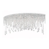Chantant 8 Light 22 inch Stainless Steel Flush Mount Ceiling Light in Clear Spectra, Strand