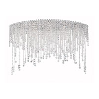 Schonbek CH4802N-401A Chantant 8 Light 22 inch Stainless Steel Flush Mount Ceiling Light in Clear Spectra, Strand