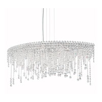 Schonbek Chantant 8 Light Pendant in Stainless Steel CH4811N-401H