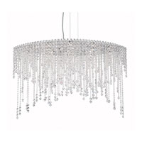 Schonbek CH4812N-401A Chantant 8 Light 22 inch Stainless Steel Pendant Ceiling Light in Clear Spectra, Strand