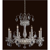 Schonbek Fontana Luce 10 Light Chandelier in Black Pearl FL7708N-49H