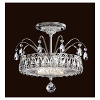 Schonbek Fontana Luce 2 Light Semi Flush Mount in Silver FL7767N-40H