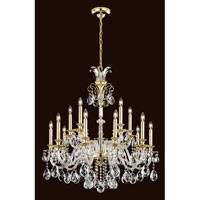 Schonbek Rivington 15 Light Chandelier in Black Pearl RT6829N-49H