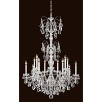 Sonatina 14 Light 35 inch Silver Chandelier Ceiling Light in Clear Heritage