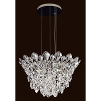 Schonbek Trilliane Strands 4 Light Pendant in Stainless Steel TR1211N-401A