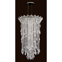 Schonbek Trilliane Strands 6 Light Pendant in Stainless Steel TR2412N-401A
