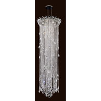 Schonbek Trilliane Strands 6 Light Pendant in Stainless Steel TR2413N-401A