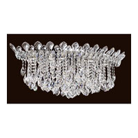 Trilliane Strands 6 Light 19 inch Stainless Steel Flush Mount Ceiling Light in Clear Spectra