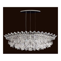 Schonbek TR4811N-401A Trilliane Strands 8 Light 25 inch Stainless Steel Pendant Ceiling Light in Clear Spectra