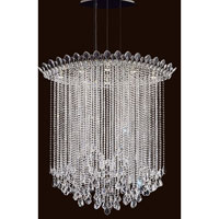 Schonbek TR4813N-401A Trilliane Strands 8 Light 25 inch Stainless Steel Pendant Ceiling Light in Clear Spectra