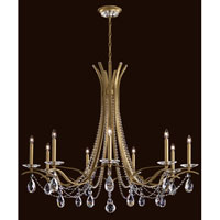 Schonbek Vesca 9 Light Chandelier in Etruscan Gold VA8339N-23A