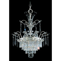 Schonbek Kirov 3 Light Chandelier in Antique Silver and Clear Heritage Trim 7171-48 photo thumbnail