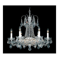 Schonbek La Belle 12 Light Chandelier in Silver and Clear Heritage Handcut Trim 2962-40 photo thumbnail