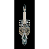 Schonbek La Scala 1 Light Wall Sconce in Ancient Bronze and Handcut Crystal 5000-65