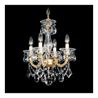 Schonbek 5344-22 La Scala 4 Light 15 inch Heirloom Gold Semi Flush Mount Ceiling Light in Clear Heritage, Convertible to Pendant alternative photo thumbnail