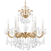 Schonbek French Gold Lascala Chandeliers