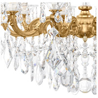Schonbek 5074-22 La Scala 10 Light 28 inch Heirloom Gold Chandelier Ceiling Light in Clear Heritage alternative photo thumbnail