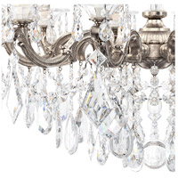 Schonbek 5074-48 La Scala 10 Light 28 inch Antique Silver Chandelier Ceiling Light in Clear Heritage alternative photo thumbnail