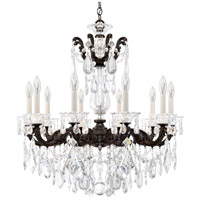Schonbek La Scala 10 Light 28 inch Heirloom Bronze Chandelier Ceiling Light in Clear Heritage
