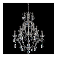 Schonbek Liberte 10 Light Chandelier in Roman Silver with Clear Spectra Crystal LI0004N-80A photo thumbnail