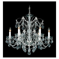 Madison 6 Light 24 inch Silver Chandelier Ceiling Light