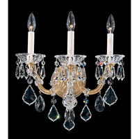 Schonbek Maria Theresa 3 Light Wall Sconce in French Gold 5602-26