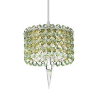 Schonbek Geometrix Matrix 1 Light Pendant in Silver and Strass Crystal MC0503EG photo thumbnail
