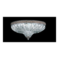 Schonbek Milano 3 Light Flush Mount in Royal Pewter 5631-84