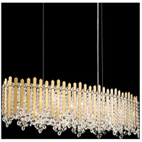 Schonbek MX8340N-401S Chatter 12 Light 12 inch Polished Stainless Steel Pendant Ceiling Light in Clear Swarovski