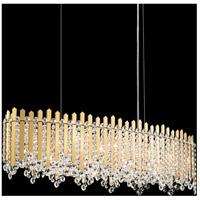 Schonbek MX8340N-301S Chatter 12 Light 12 inch Gold Mirror Pendant Ceiling Light in Clear Swarovski