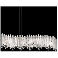 Schonbek MX8346N-301A Chatter 7 Light Gold Mirror Pendant Ceiling Light in Clear Spectra