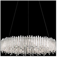 Schonbek MX8349N-401S Chatter 18 Light Polished Stainless Steel Pendant Ceiling Light in Clear Swarovski