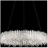 Schonbek MX8349N-401S Chatter 18 Light Polished Stainless Steel Pendant Ceiling Light in Clear Swarovski