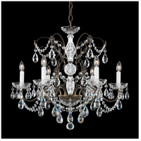 Madison 6 Light 24 inch Etruscan Gold Chandelier Ceiling Light